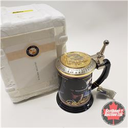 "Franklin Mint Dale Earnhardt ""The Intimidator"" Collector Tankard"