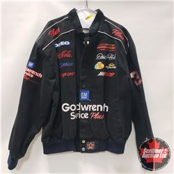 NASCAR Fan Coat (Chase Authentics) Dale Earnhardt (Size L)