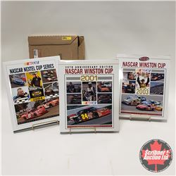 Nascar Winston Cup Hardcover Books : 2001, 2003, 2004