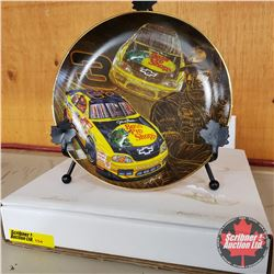 """Nascar Collector Plate """"Hooked Up"""" #H0244"""