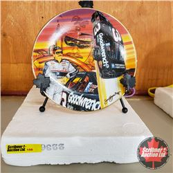 """Nascar Collector Plate """"Man On A Mission"""" #F1225"""