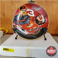 """Nascar Collector Plate """"Hot Property"""" #1762R"""