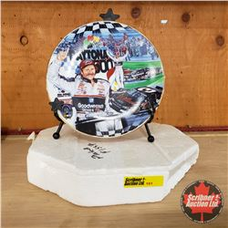 """Nascar Collector Plate """"Finally First"""" #F1555"""
