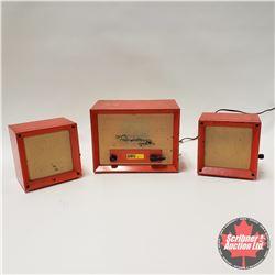 Vintage CASE Farm Intercom System