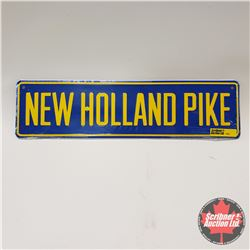 New Holland Pike Sign