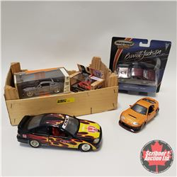 Box Lot: Variety of 5 Cars (Different Scales) Must See !