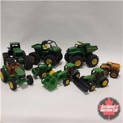 Box Lot: John Deere Sandbox Toys (8)