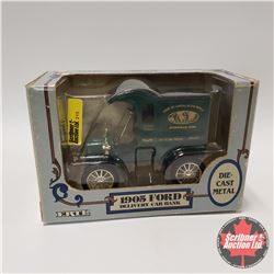 """Truck Bank 1905 Ford """"Limited Edition"""" Farm Toy Capital of the World"""