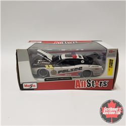 Maisto: Police Car Dodge Challenger (1/24 Scale)