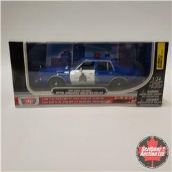 Motor Max 1986 Dodge Diplomat RCMP (1/24 Scale)