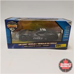 Jada 2009 Corvette Concept Police Car (1/24 Scale)