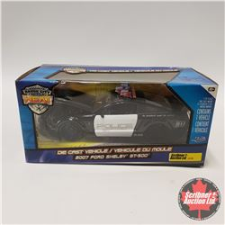 Jada 2007 Ford Shelby GT500 Police Car (1/24 Scale)