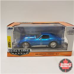 "Jada ""Big Time Muscle"" 1969 Corvette Stingray ZL-1 (1/24 Scale)"