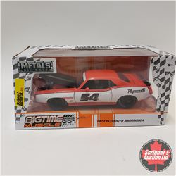 "Jada ""Big Time Muscle"" 1973 Plymouth Barracuda (1/24 Scale)"