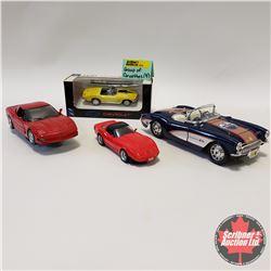 Combo (4) Corvettes
