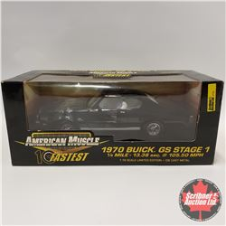 American Muscle 1970 Buick GS Stage 1 (1/18 Scale)