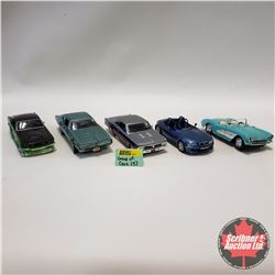 Group of 5 Cars (1/24 Scale) Scratch & Dent Specials