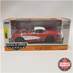 "Jada ""Big Time Muscle"" 1957 Corvette (1/24 Scale)"