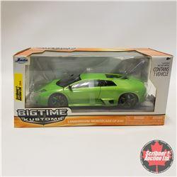 "Jada ""Big Time Custom"" Lamborghini Murcielaco LP640 (1/24 Scale)"