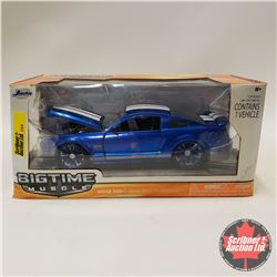 "Jada ""Big Time Muscle"" 2008 Ford Shelby GT500KR (1/24 Scale)"