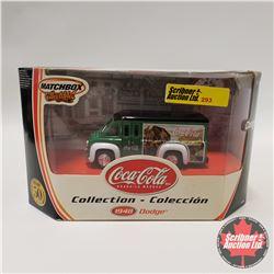 "Matchbox 1948 Dodge ""Coca Cola Collection"""