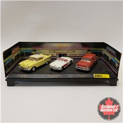 3 Car Chevrolet Collection (1/39 Scale)