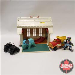 2 Tonka Toys & Vintage School House