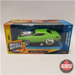 CHOICE OF 4: Maisto Muscle Machines Garage : Green Chevelle