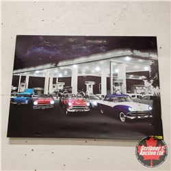 Light-up Car Picture (28x20)