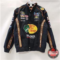 J.H. Design NASCAR Fan Coat (Bass Pro Shops) Size Large