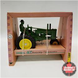 """John Deere A w/Driver """"40th Anniversary Commemorative"""" (1/16th Scale)"""