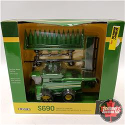 John Deere S690 Tracked Combine (1/64th Scale)