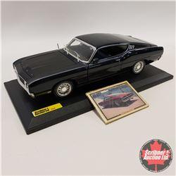 Maisto 1969 Ford Talladega c/w Collector Card (1/18th Scale)