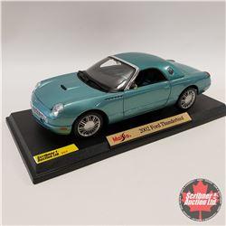 Maisto 2002 Ford Thunderbird (Slightly Damaged) (1/18th Scale)