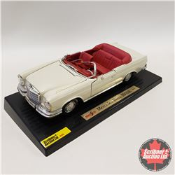 Maisto 1966 Mercedes-Benz 280SE (Damaged) (1/18th Scale)