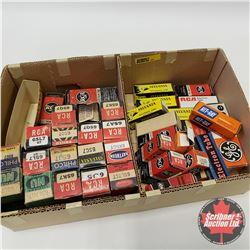 Box Lot : Variety of Radio Tubes