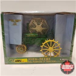 John Deere General Purpose Model P w/Umbrella (1/16th Scale)