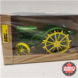 John Deere D Steel Wheels  Expo V111 1998 2 Cylinder Club  (1/16th Scale)