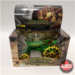 "John Deere BW Tractor w/Umbrella ""200th Birthday of John Deere"" (1/16th Scale)"