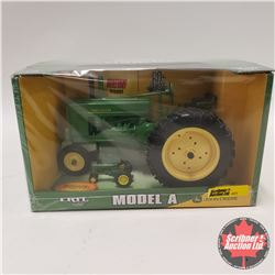 John Deere Model A (1/16th Scale) (w/Bonus 1/64th Scale Tractor)
