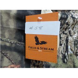 New Camo Field & Stream LS Shirt