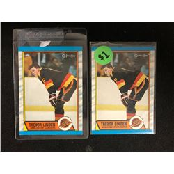 1989-90 O-Pee-Chee #89 Trevor Linden Rookie Card Lot