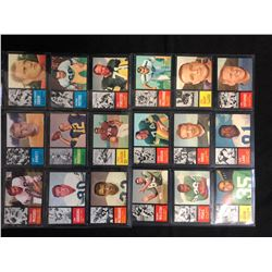 1962 TOPPS FOOTBALL CARD LOT