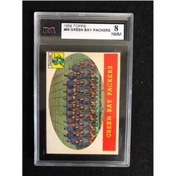 1958 TOPPS #96 GREEN BAY PACKERS (8 NMM)