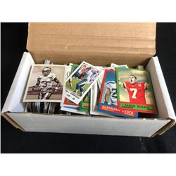FOOTBALL TRADING CARD LOT (VARIOUS YEARS)