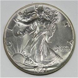 1947 WALKING LIBERTY HALF DOLLAR