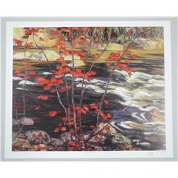"""A.Y. Jackson 'The Red Maple' 20x24"""" Fine Art Prin"""