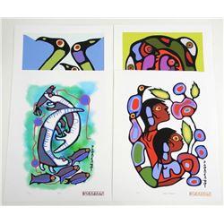 Norval Morrisseau (1931-2007) 'A Shaman's Vision'