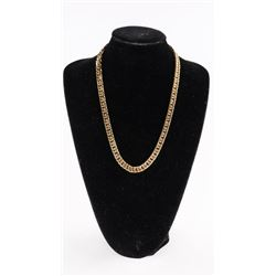 "18kt Gold Plated 22"" Necklace - 77 gramsÂ"