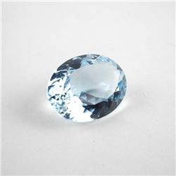 Loose Gemstone 36.14ct Oval Cut Natural Blue Topaz